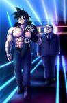 Commission - WWE Yamcha by Teira-Nova