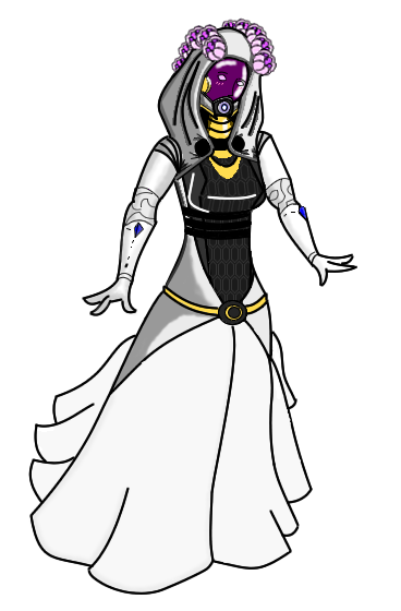 Tali Wedding Dress Updated By Driving Ghost On Deviantart