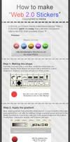 Web 2.0 Sticker Tutorial