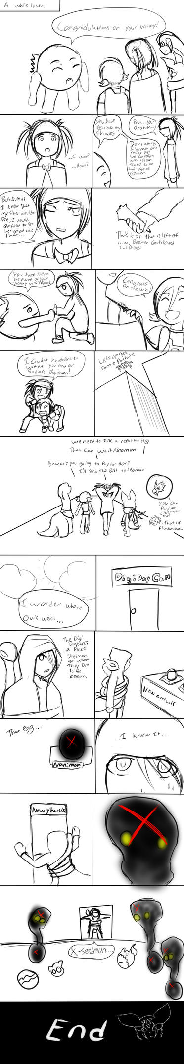 DXT round 2 page 8 (END) by wolfnogins