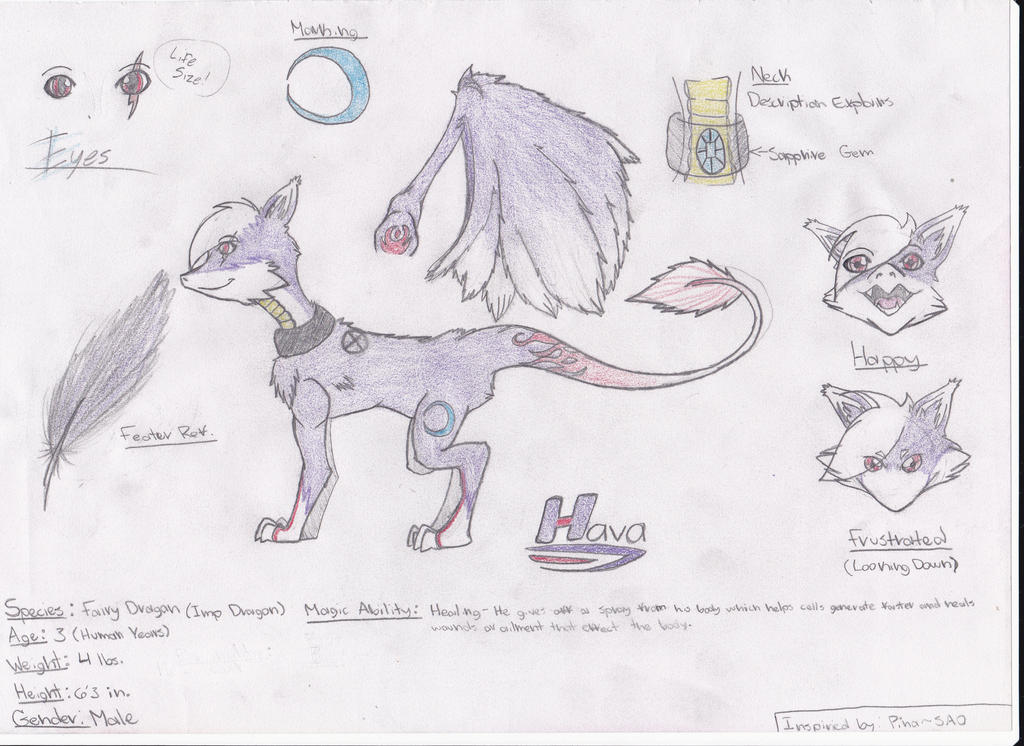 Meet Hava! (Bio Unfinished) by Bradley-The-Blue-Fox