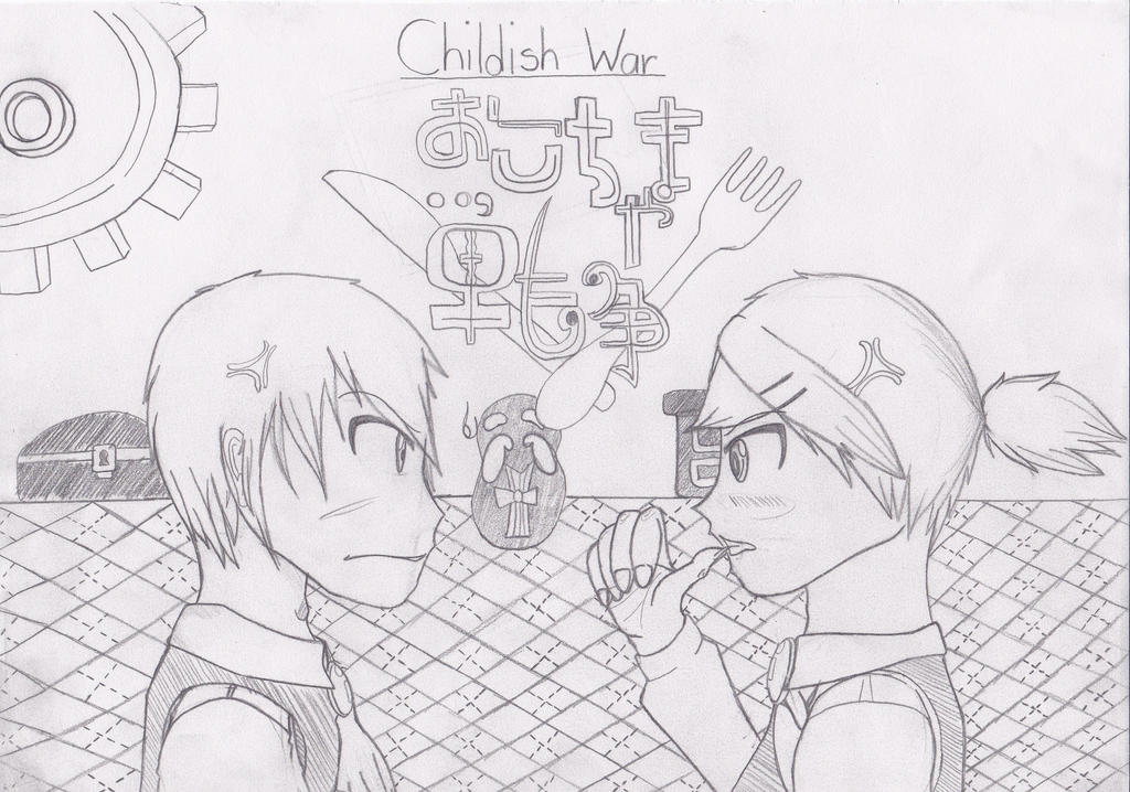 My Kind of Childish War by Bradley-The-Blue-Fox
