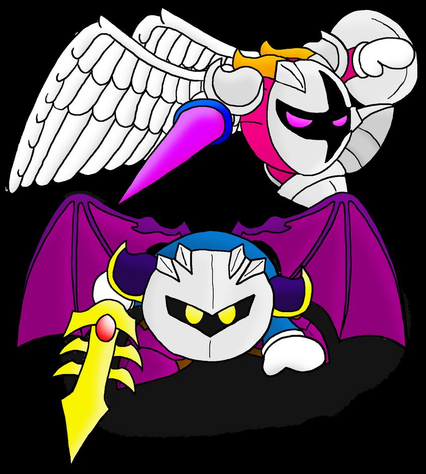 Meta Knight Meta Knight And Galacta Knight