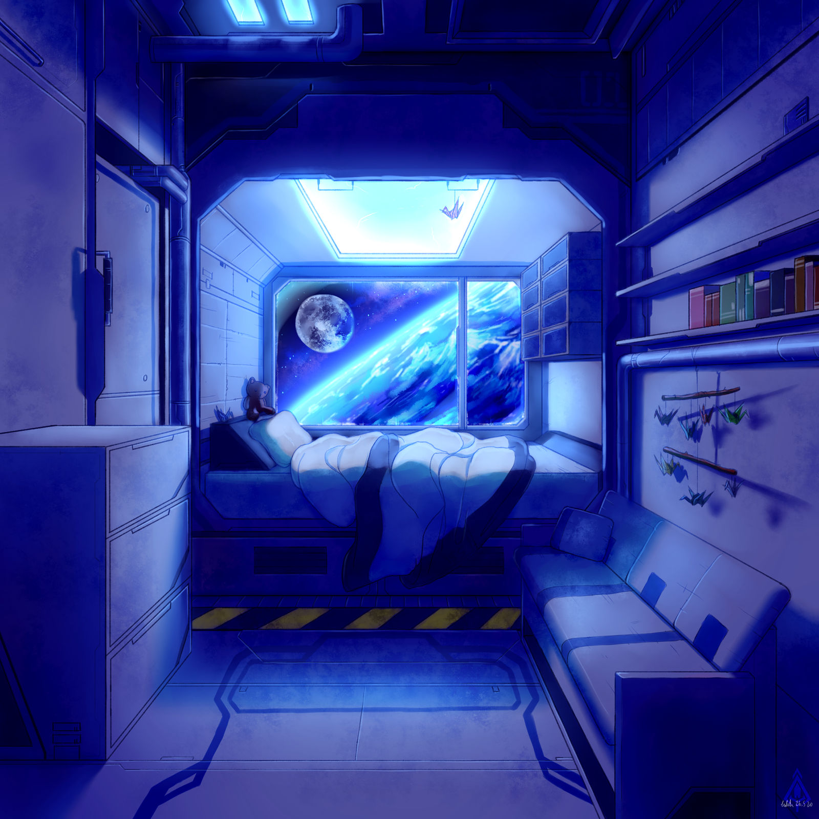 Space Station Bedroom