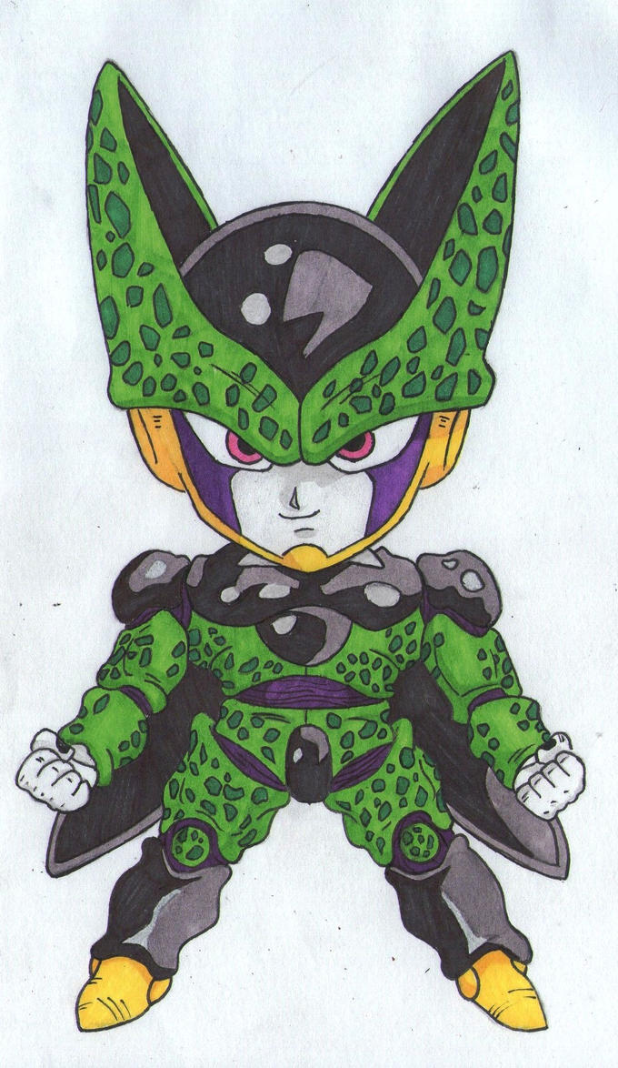 DBZ-Cell Chibi (Remake) by thesexychurro on DeviantArt