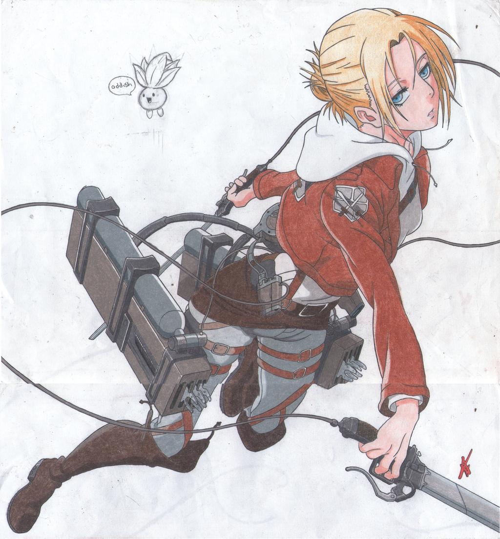 Annie leonhardt fighting stance