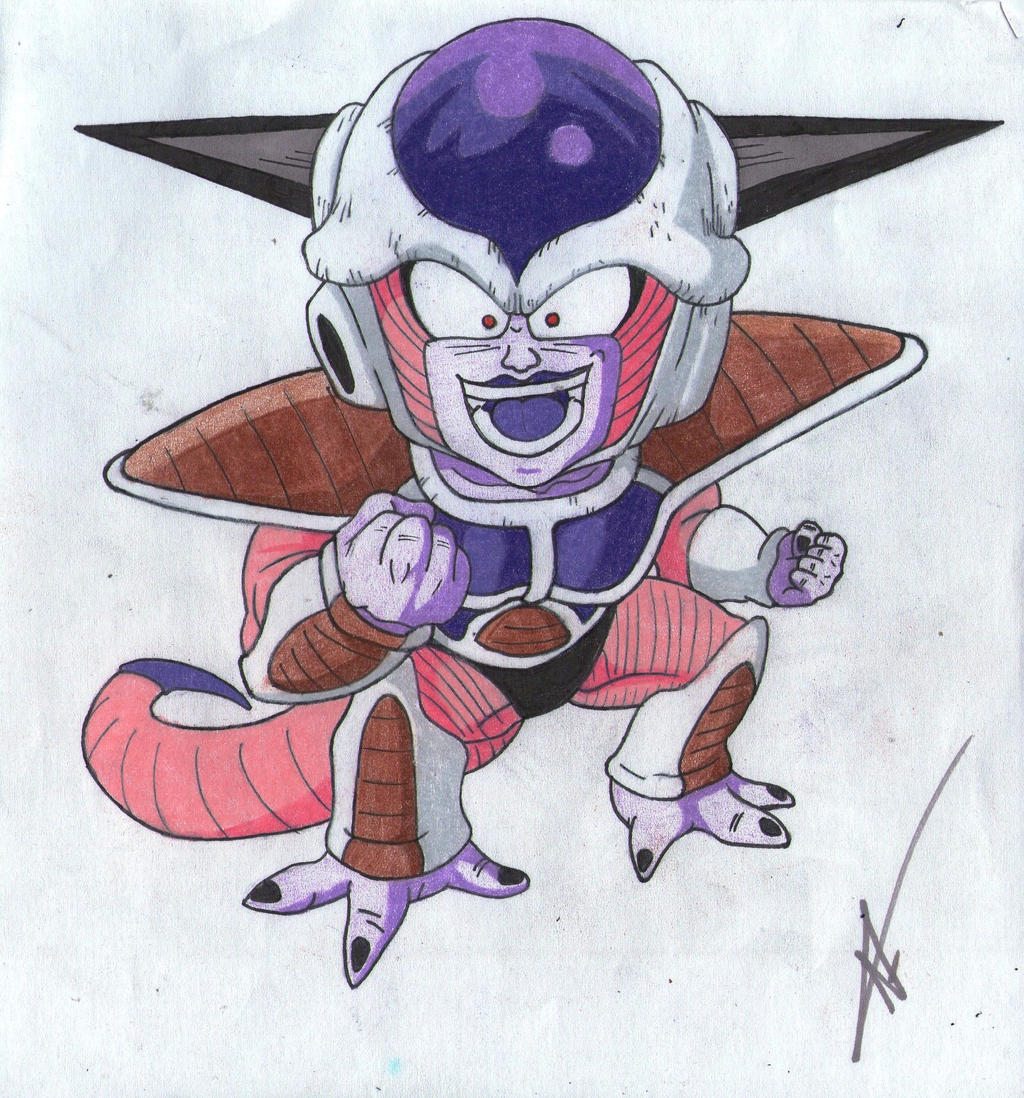 DBZ- Frieza 1st form (remake) by thesexychurro on DeviantArt