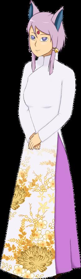 Espeon Gijinka