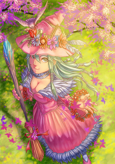 Spring Witch by BriarnorLodge
