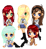 [Sprites] - Corpse Party - [OC] by Angelic-Muffinz