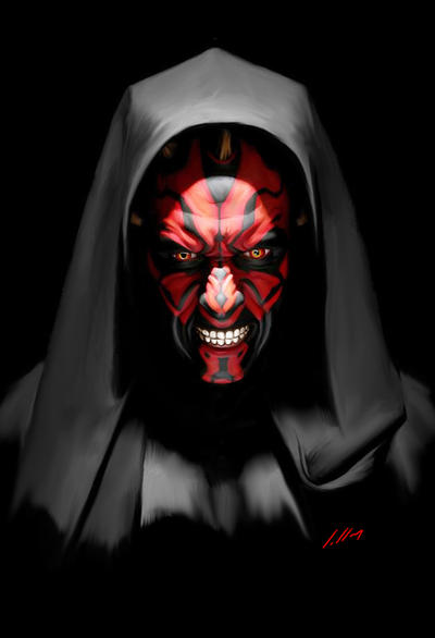 DARTH MAUL by axlsalles