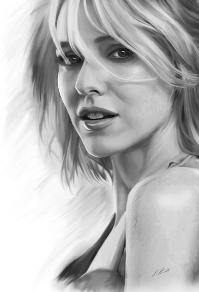 Naomi Watts by axlsalles