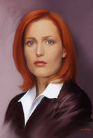 Scully by axlsalles