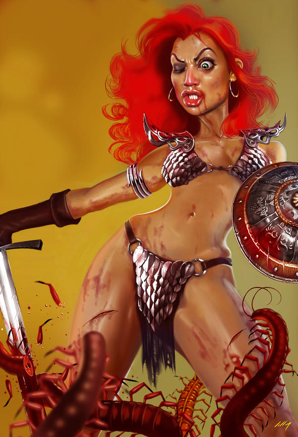 Red sonja 2015 by axlsalles