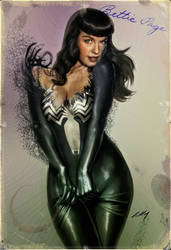 VENOM Bettie Page 2017