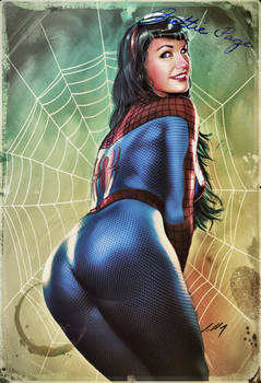 Bettie Page SpiderGirl 2017