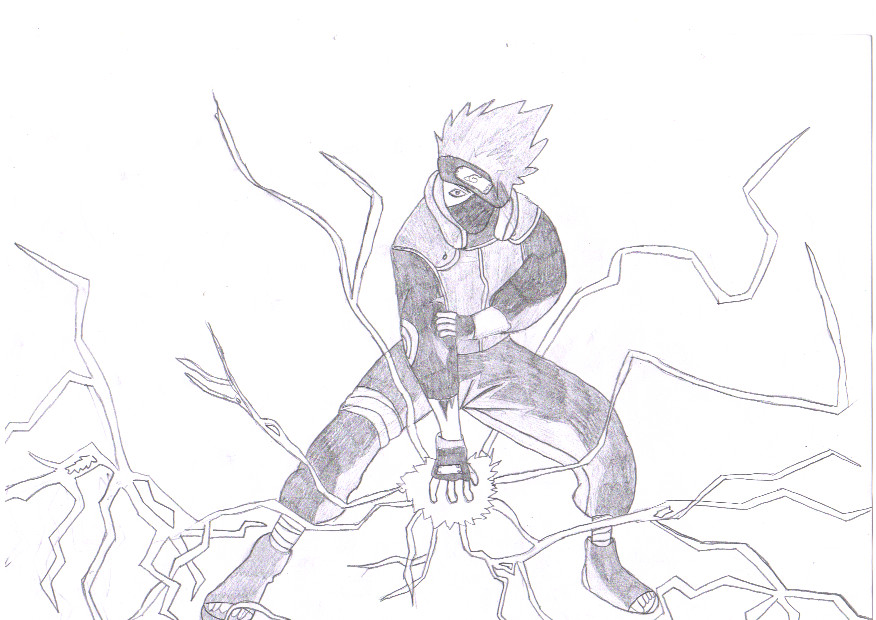 Kakashi's Chidori by BloodZaphir on DeviantArt