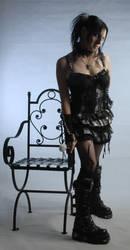 gothic lolita model part 2.6