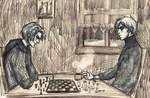 Playing Chess [APH GODS AU]
