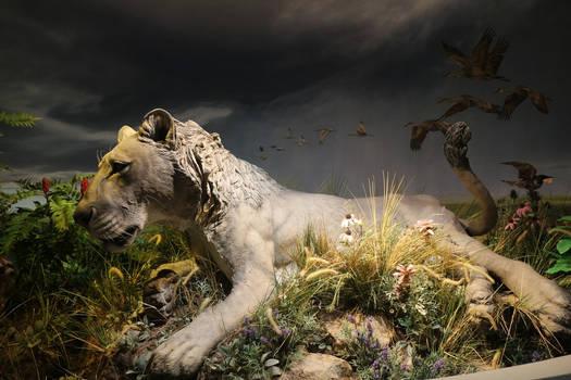 American Lion sculpture