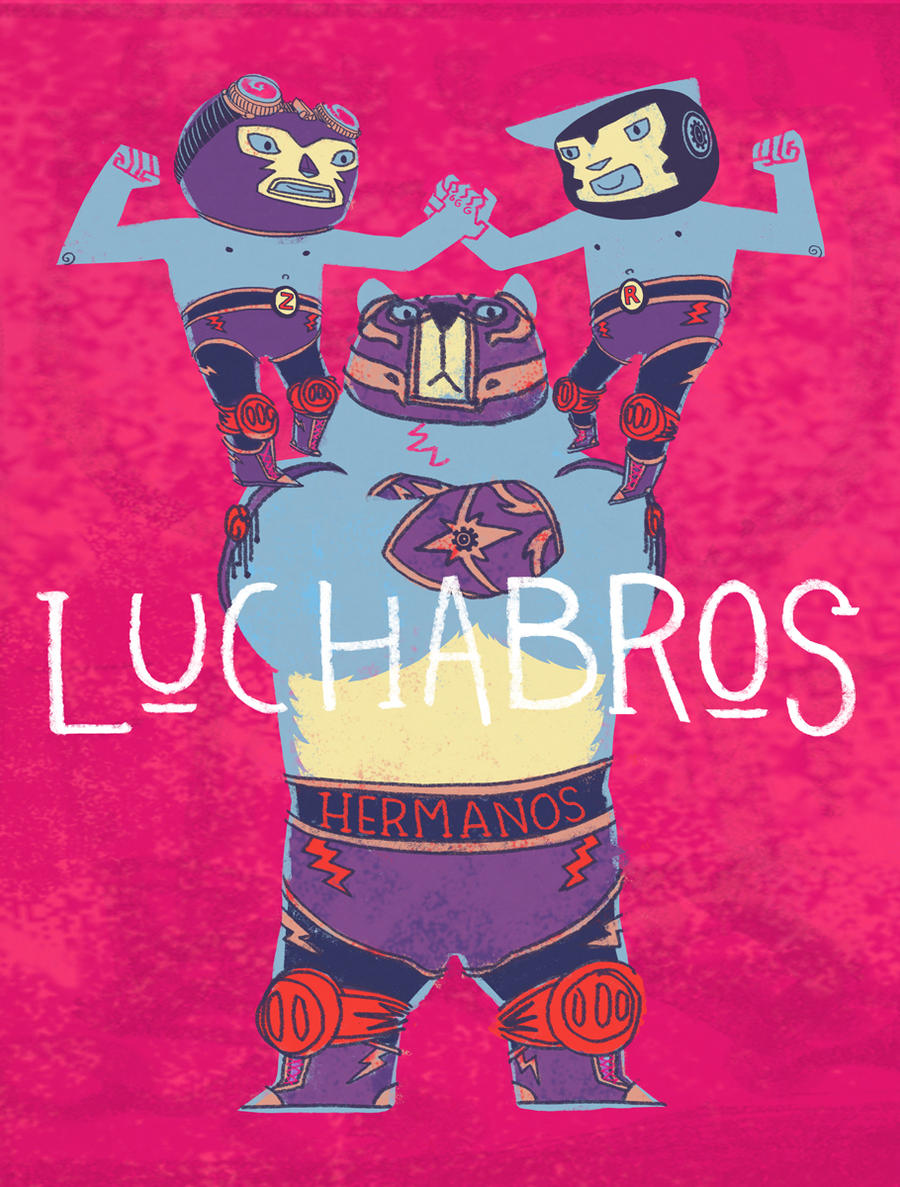 Luchabros by ftongl