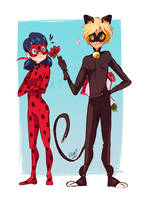 Ladynoir by Uxia15