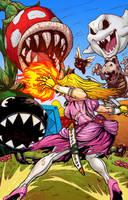 Princess Peach BA warrior version by BrianAtkins