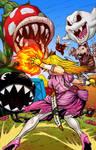 Princess Peach BA warrior version