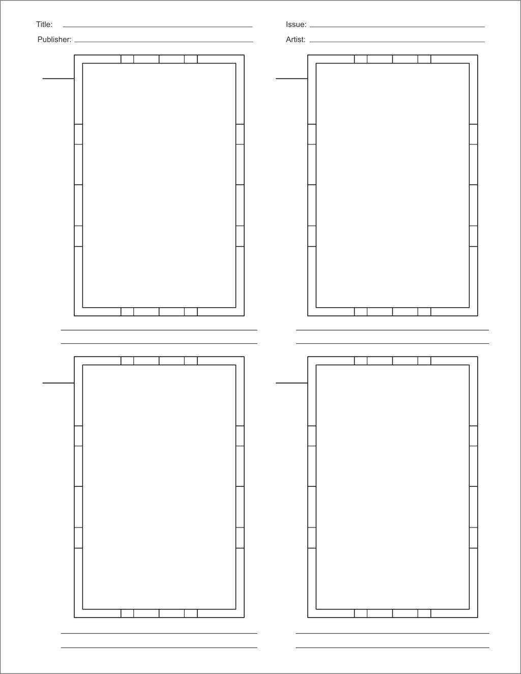 comic book layout template by brianatkins on deviantart