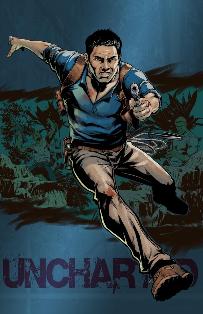 Uncharted 4 Nathan Drake By Brianatkins On Deviantart