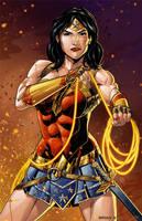 Warrior Wonder Woman by BrianAtkins