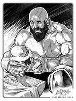 Kratos God of War  by BrianAtkins