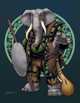 Donophan, the Loxodon Druid