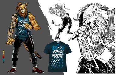 Kings Pryde singer design