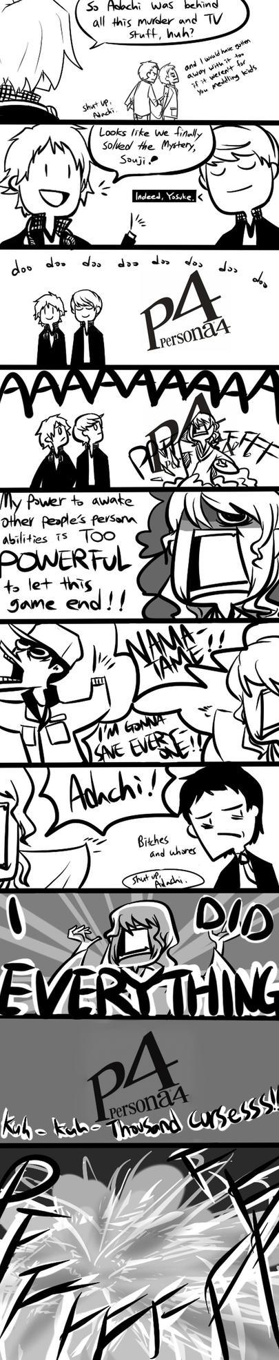 Persona 4: Izanami - SPOILER by lewd-dodo