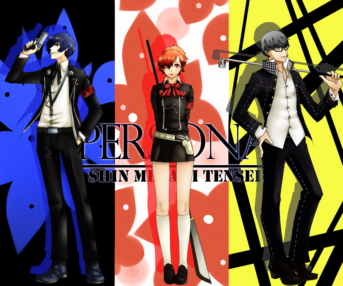 30 Questions: Video Game Style Persona_3__4__protagonists_by_dodomir23-d3ifks7
