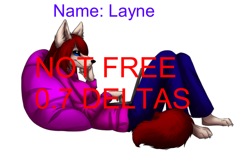 Colored Pose Layne NOT FREE by Chat-Land-Poses