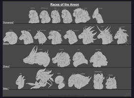 Races of the Areon WIP
