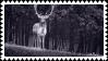 deer stamp by bulletblend
