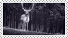 deer stamp by bulletblend
