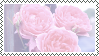 roses stamp by bulletblend