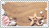 beach stamp by bulletblend