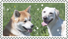 dogs stamp by bulletblend