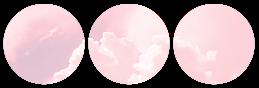cloud divider {pink version}