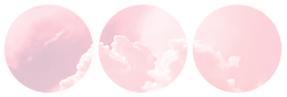 cloud divider {pink version} by bulletblend