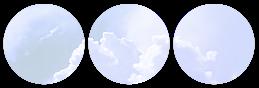 cloud divider {blue version}