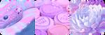 pastel divider by bulletblend