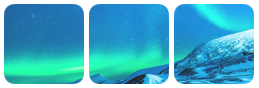 northen lights divider by bulletblend