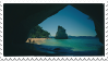 sea cave stamp by bulletblend