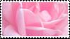 rose petals stamp